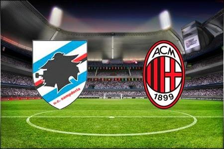Risultato SAMPDORIA MILAN in DIRETTA Live Video Gol Tempo Reale Anticipo Calcio Serie A