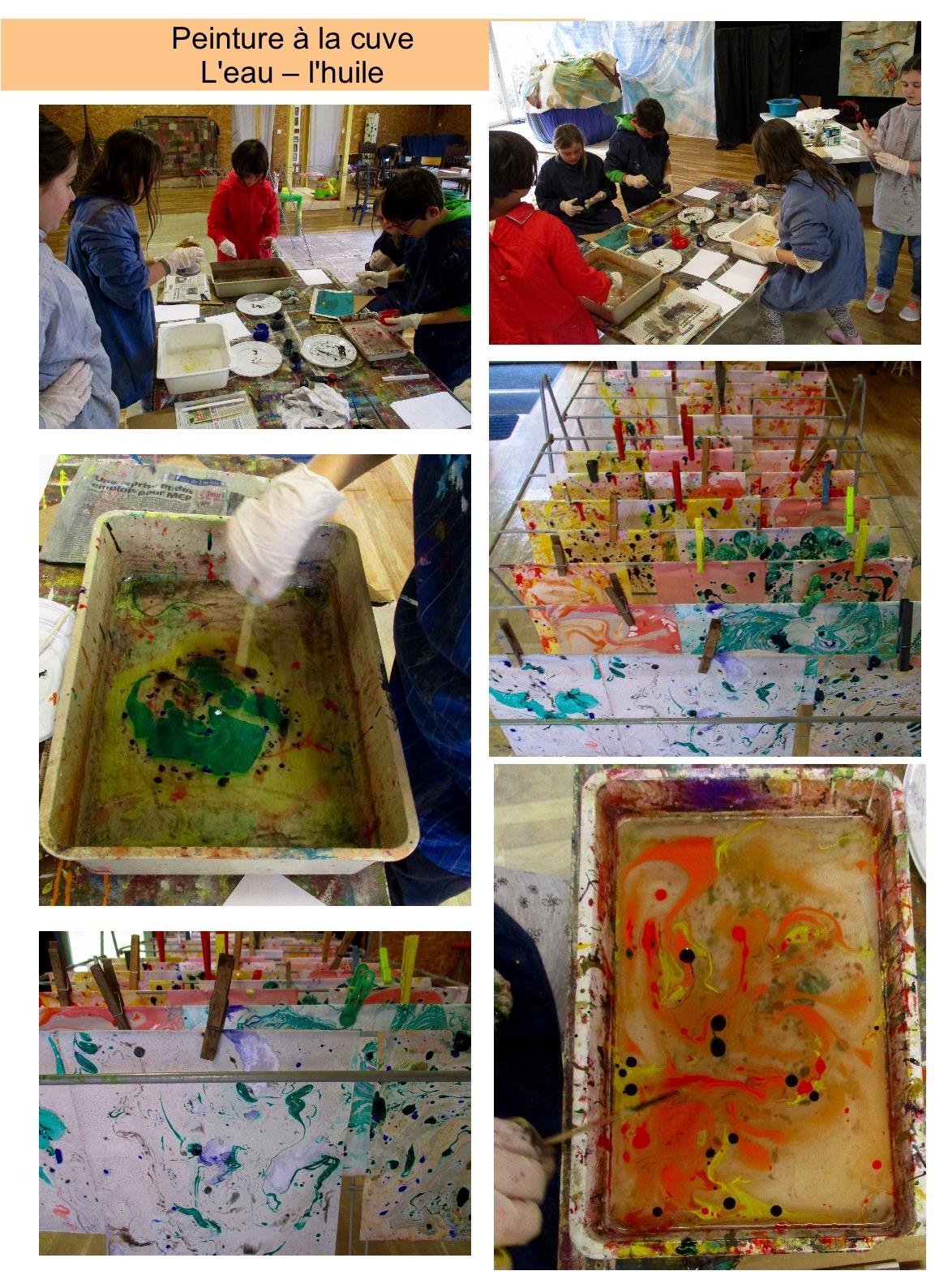 atelier peinture à la cuve