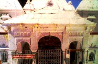 The Gangotri Dham in Uttarakhand, the holy temple of Goddess Ganga Ji