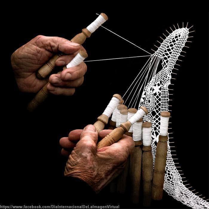 El trabajo con las manos.....