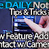 Galaxy Note 3 Tips & Tricks Episode 30: New Feature, Add Contacts w/Camera
