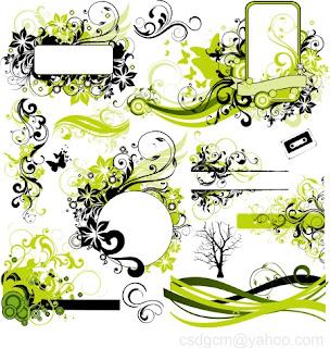 floral vector, vector-1, floral vector-1, free popular floral vector, popular floral vector, desain grafis