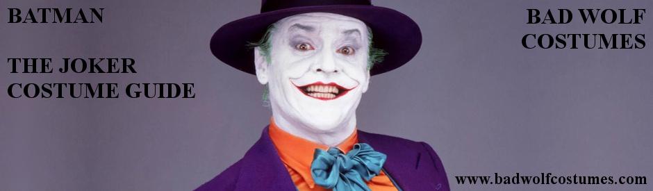 Batman: Joker Costume Guide