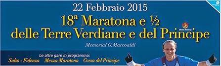 Maratona delle Terre Verdiane del Principe 2015