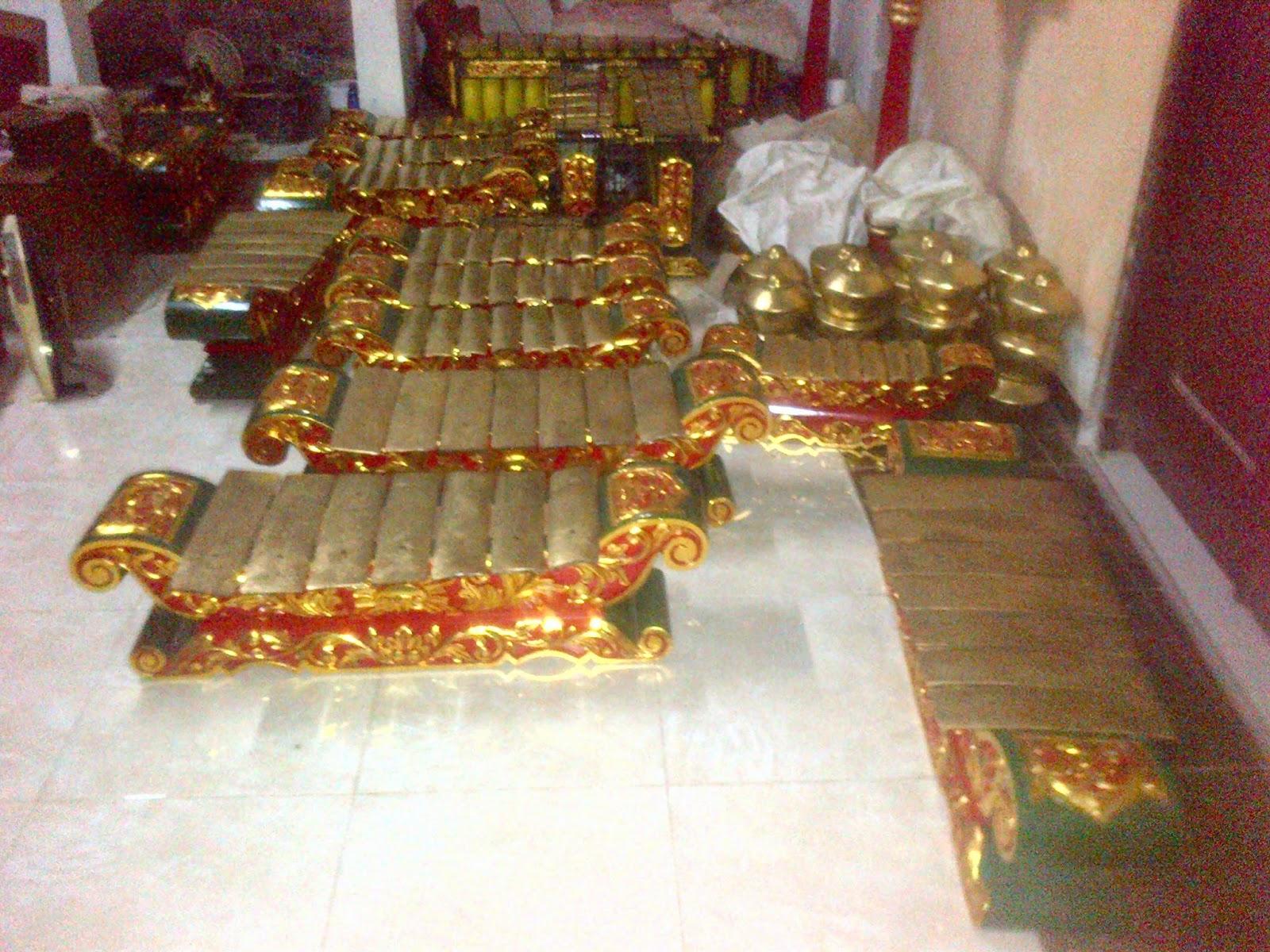 Proposal pengadaan alat musik gamelan
