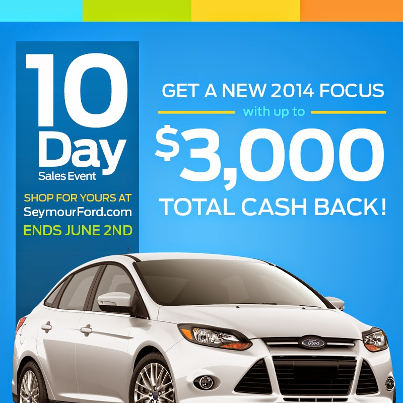 10 Day Sales Event at Seymour Ford Lincoln