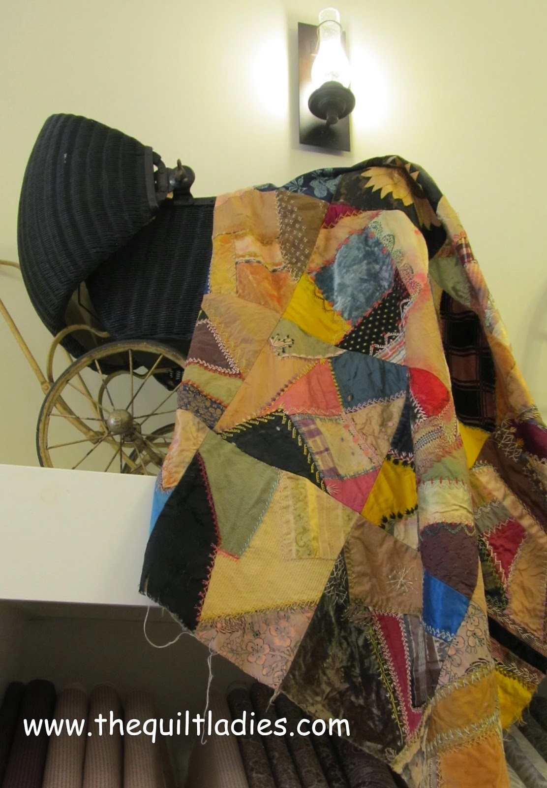 Crazy Quilt from Missouri Star Quilt Company, Hamilton, MO