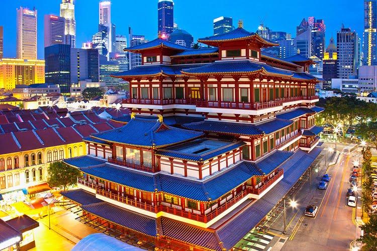新加坡佛牙寺龙华院