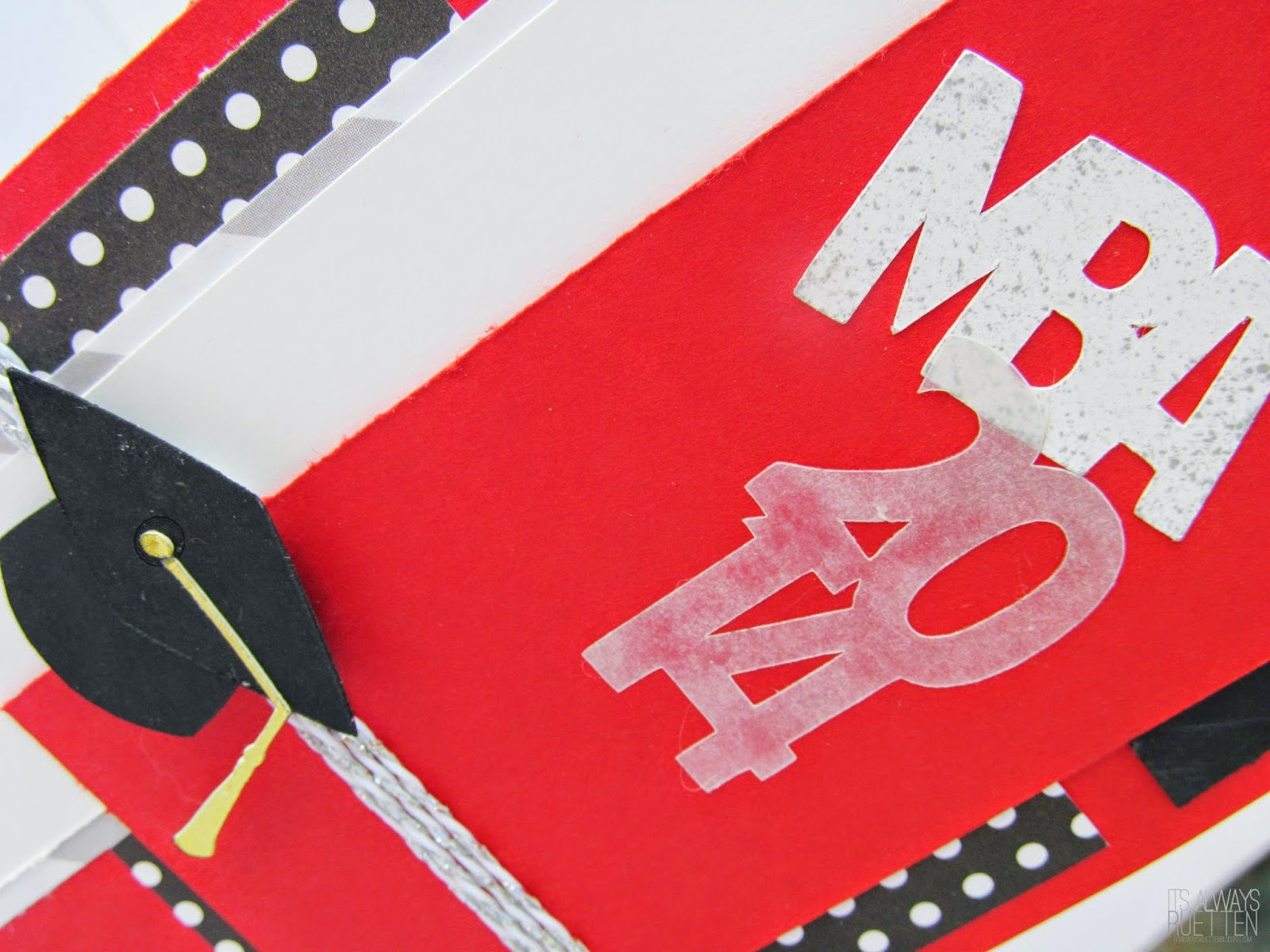 Cute MBA Graduation Card #MOJO343