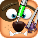 Pet Vet Doctor - DOGS Rescue App iTunes App Icon Logo By Bake More Cake Maker Inc - FreeApps.ws