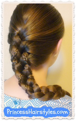 Micro braid lattice wrap hairstyle video tutorial