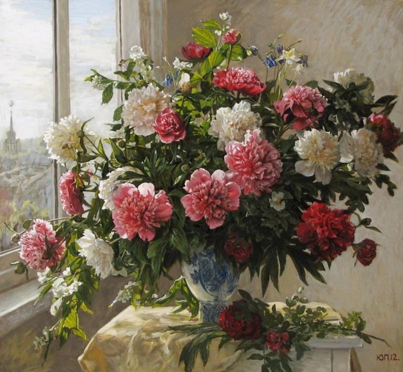 jarrones de flores cuadros decorativos