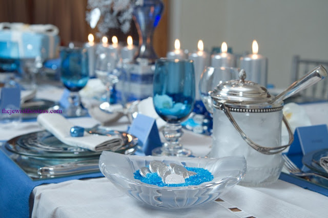 The Jewish Hostess Hanukkah tablesettings