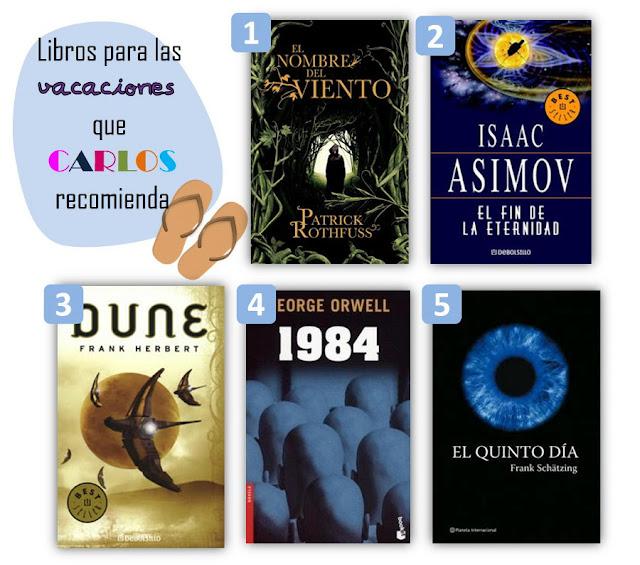 libros recomendados por carlos