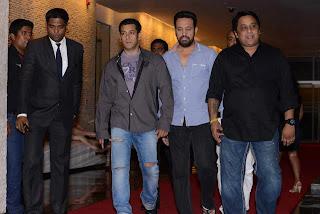 Salman Khan at CCL3 Glam Night