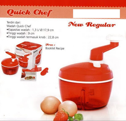 TUPPERWARE QUICK CHEF
