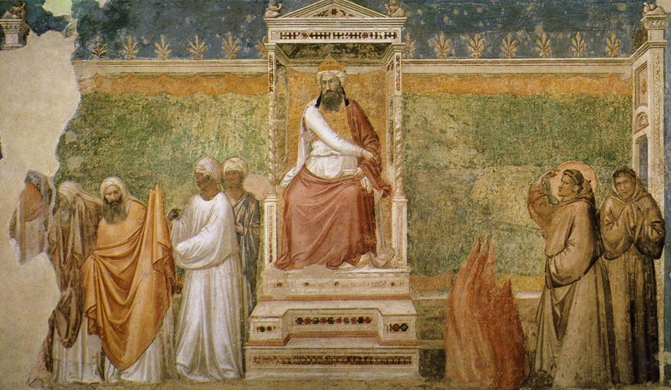 the history of painting in florence giotto and the frescoes in santa croce. Black Bedroom Furniture Sets. Home Design Ideas