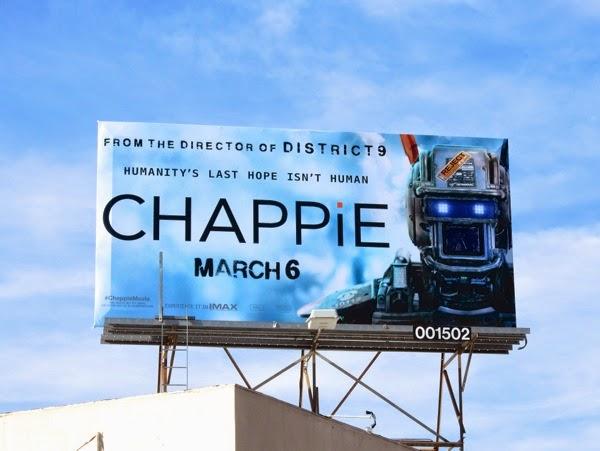 Chappie billboard