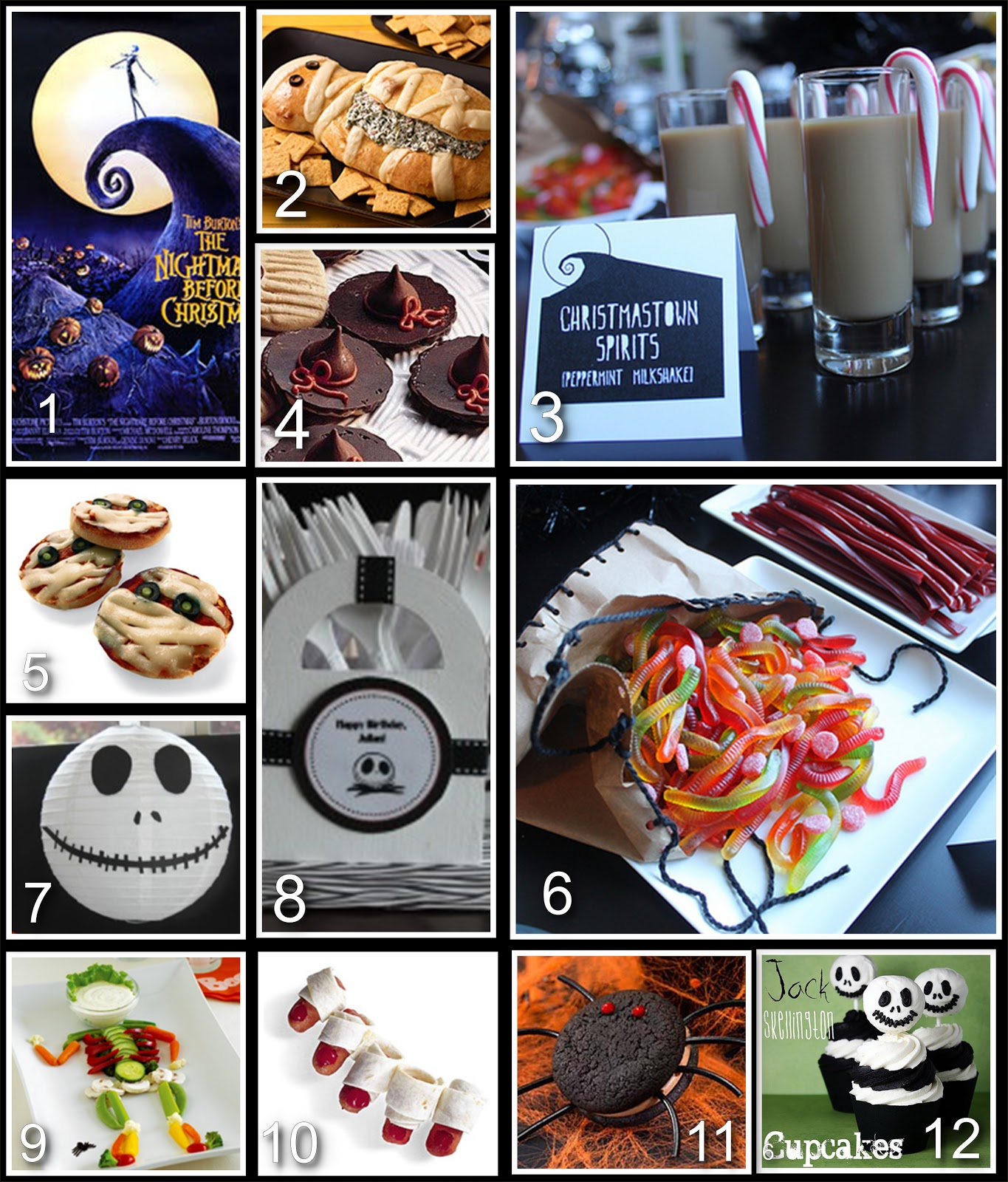 Guru Donna Kay: Disney Party Board - Nightmare Before Christmas Party