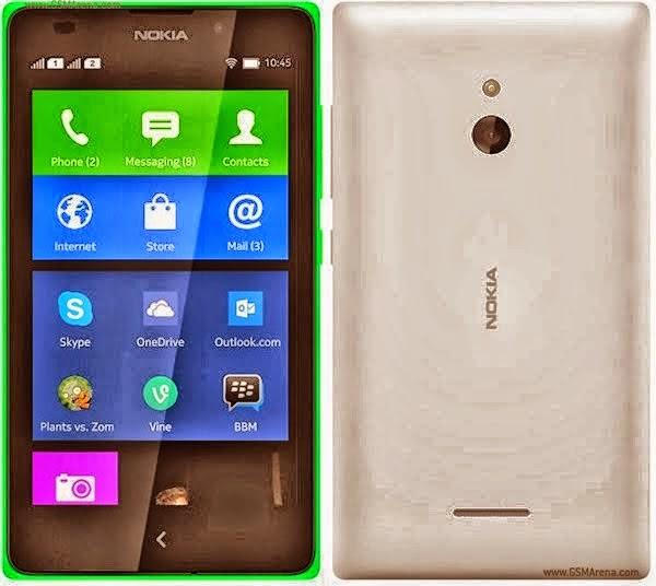 Spesifikasi dan Harga Nokia XL Android terbaru 2014