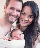 Nick Vujicic, unstoppable, father, son, Kiyoshi, Life Without Limbs