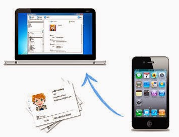 how to download contacts from iphone 6 to mac