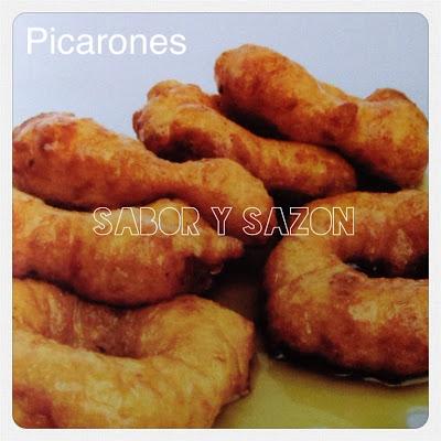 Cómo preparar PICARONES     -    http://saborysazon.blogspot.com