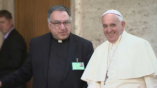 Rosica and Pope Francis