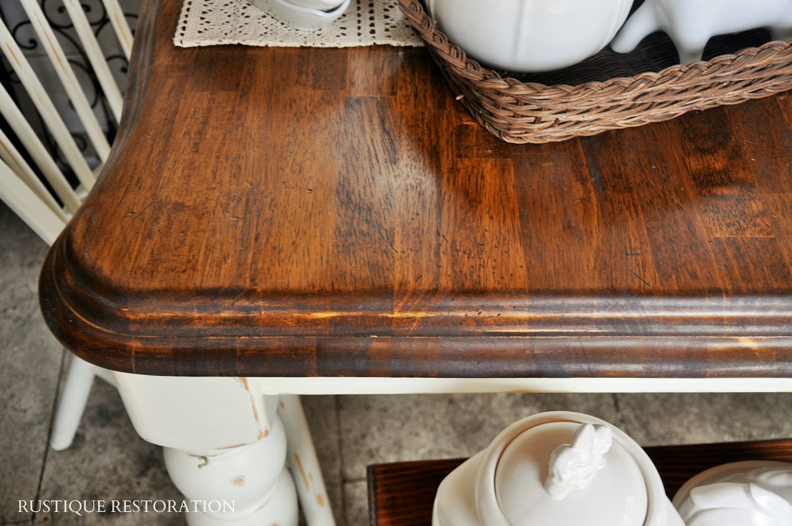 Country Farmhouse Table And Chairs rustique restoration: french country farmhouse table and decor