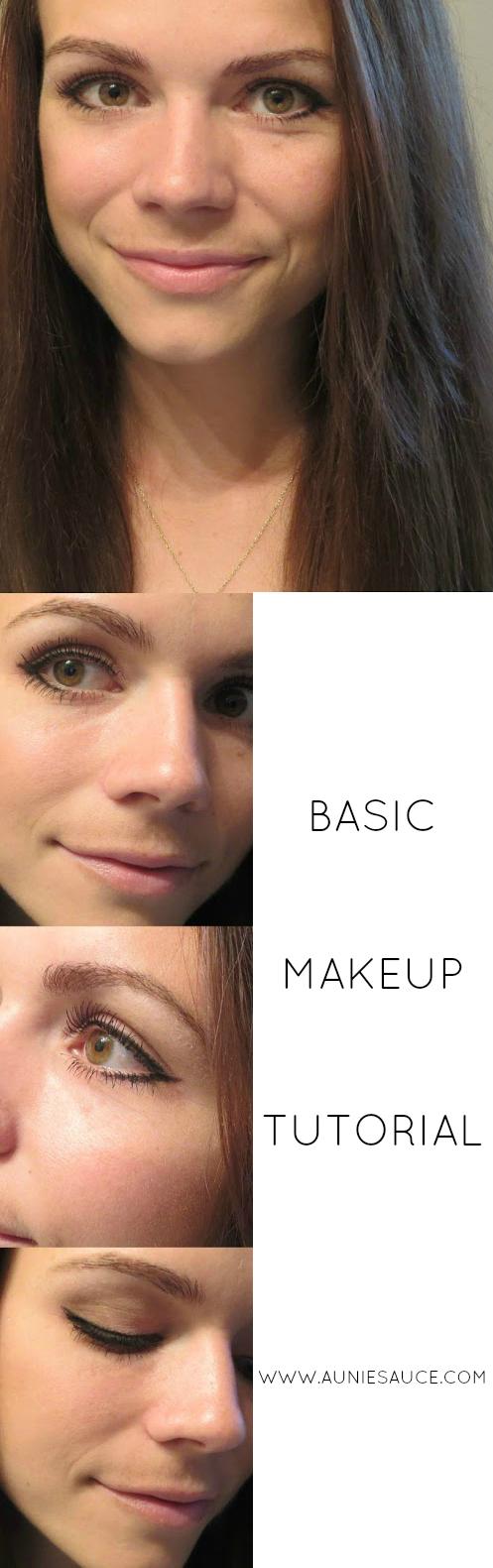 Aunie Sauce: Basic Makeup Tutorial