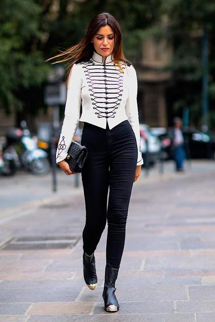 calca cintura alta  preta