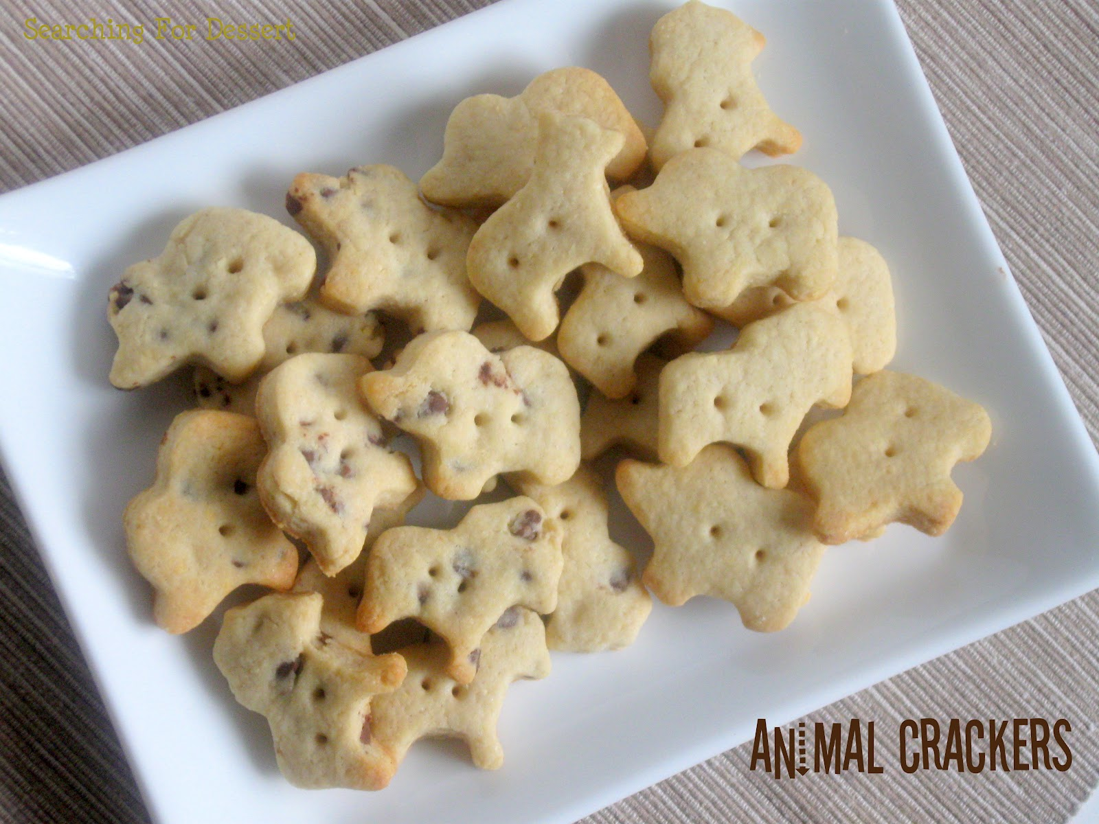 Animal Crackers | Searching for Dessert