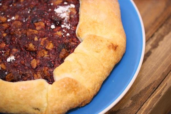 Flaky, warm Pastry