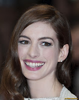 Anne Hathaway at European premiere of One Day in London