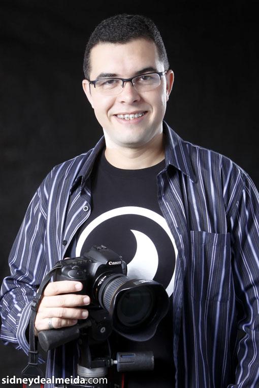 "Sidney: ""Sou um fotógrafo da beleza"". Foto: Galdino Almeida"