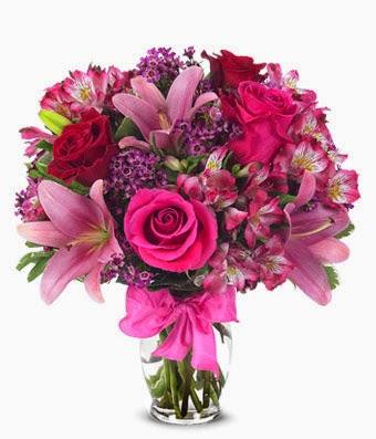 Floral celebration for mom