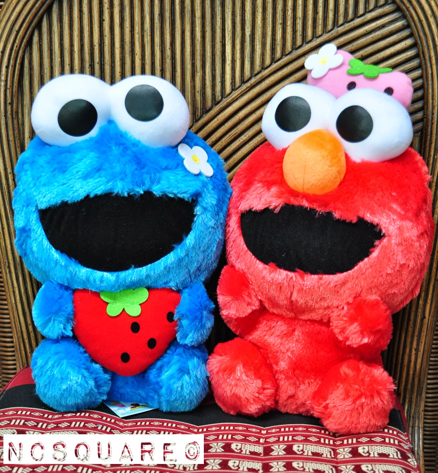 NCSQUARE: Elmo & Cookie Monster