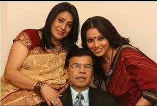 bipasha's father and mother