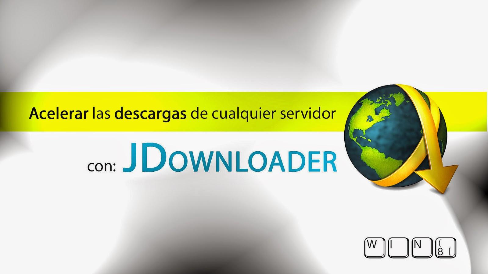 مدير التحميل jdownloader