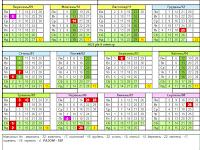 Календар учителя на 2020-2021 навчальний рік