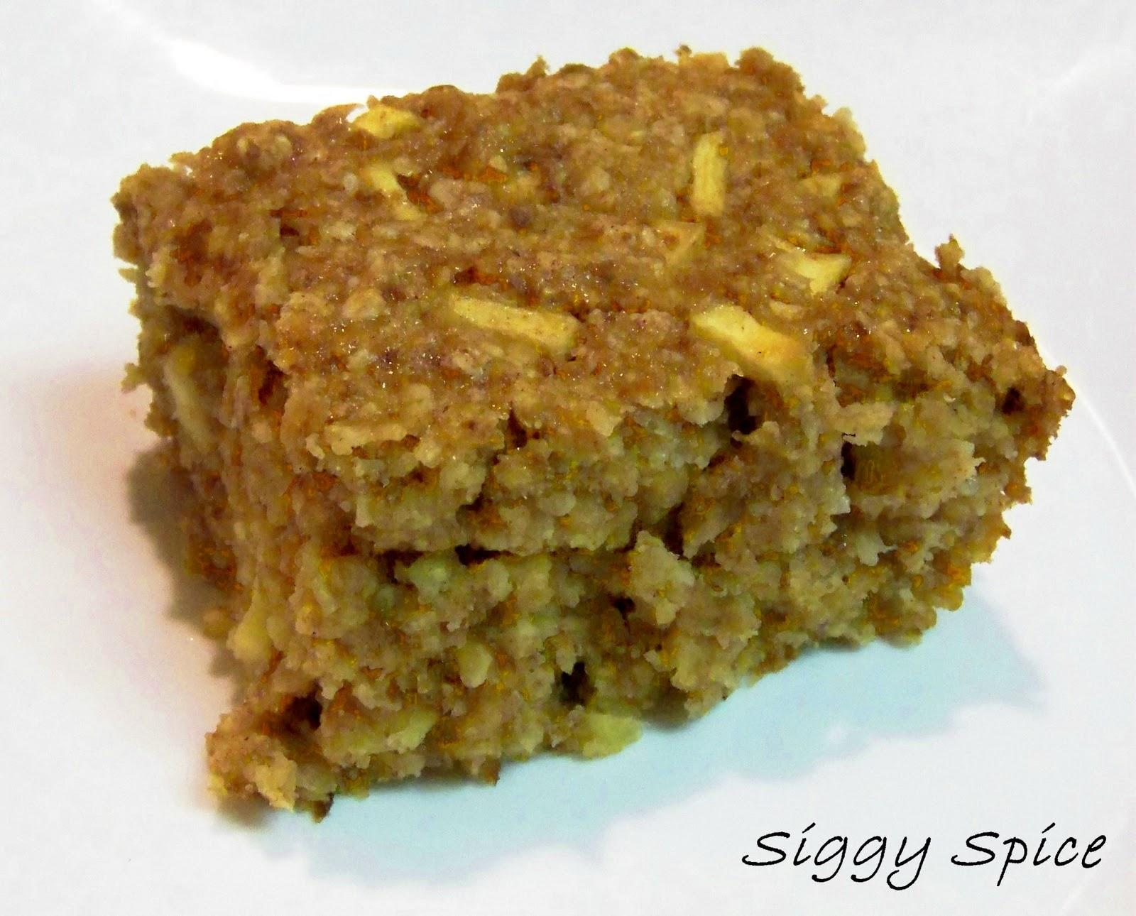 Siggy Spice: Cinnapple Baked Oatmeal