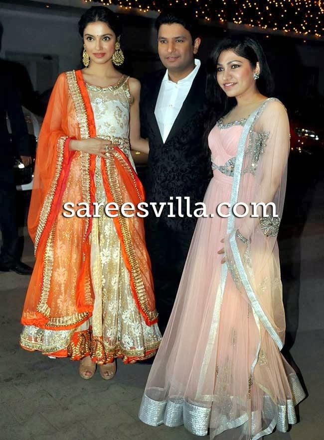 Divya Khosla, Bhushan Kumar and Tulsi