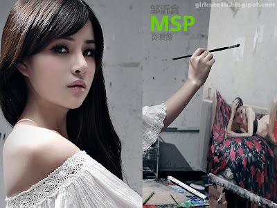 1 Zou Yi MSP Star program with Painted Skin-very cute asian girl-girlcute4u.blogspot.com