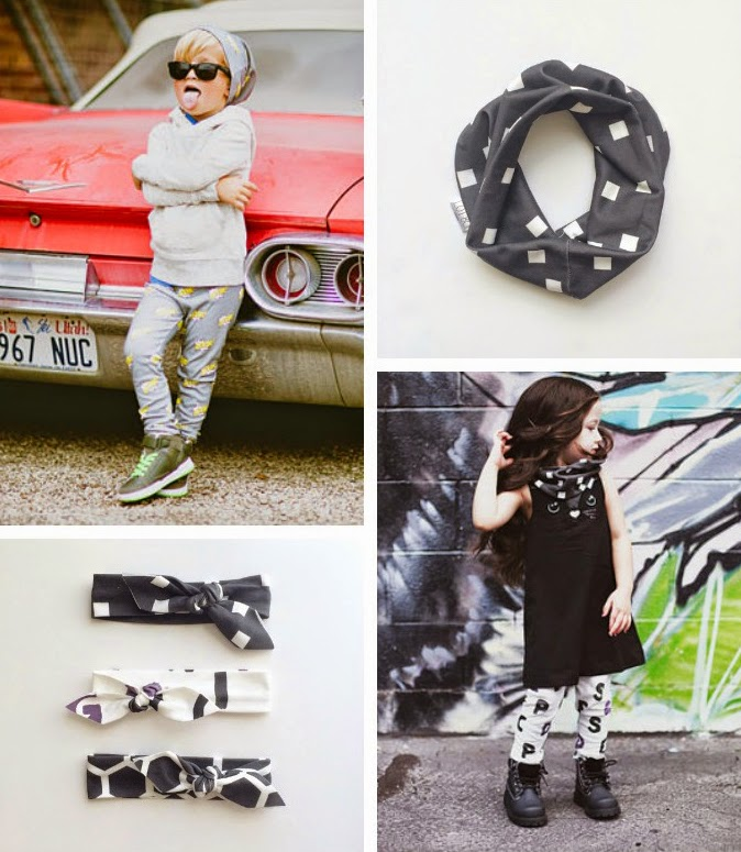 Organic leggings and accessories for babies by LOT801