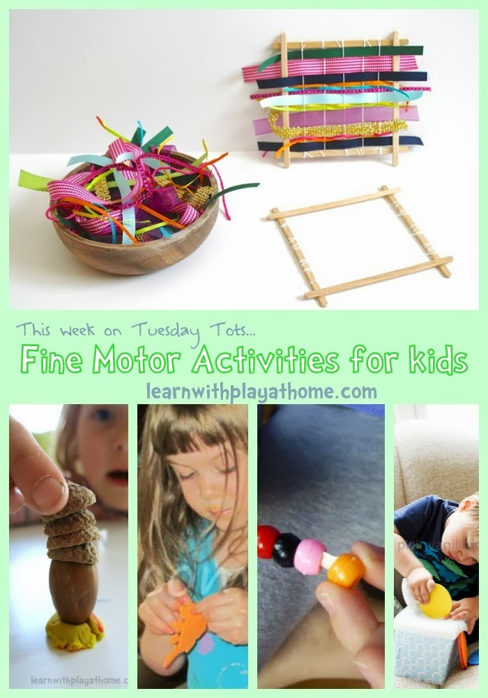 Learn With Play At Home Fine Motor Activities For Kids