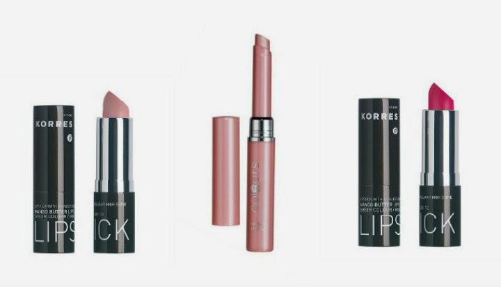 spring pink lipstick korres frosty pink fuchsia lr crystal rose