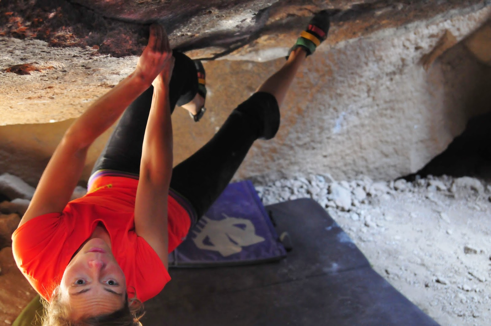 www.boulderingonline.pl Rock climbing and bouldering pictures and news Sending Sisters: Catherine Vaillancourt
