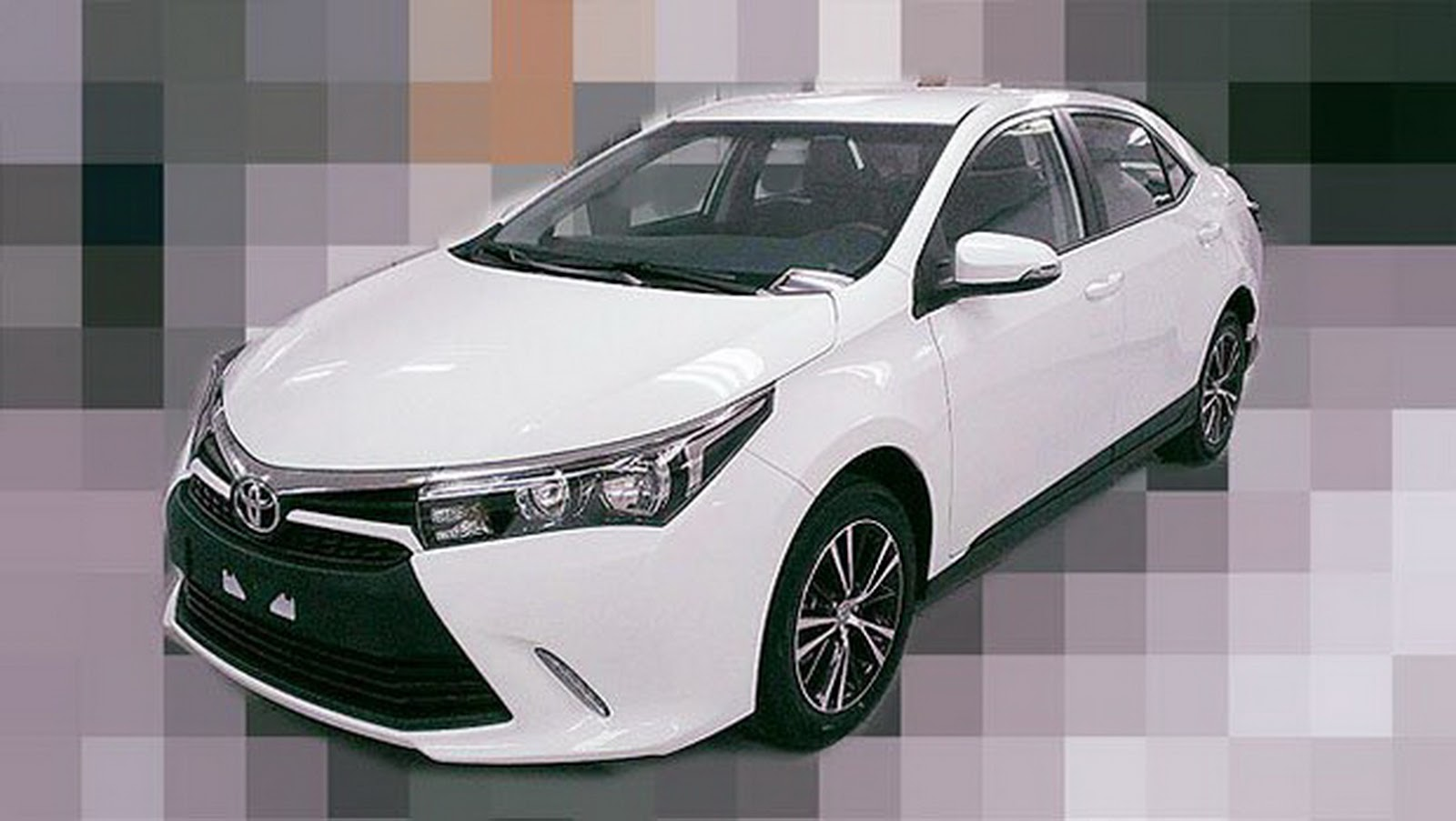 is this europe's 2016 toyota corolla facelift, asia's new corolla