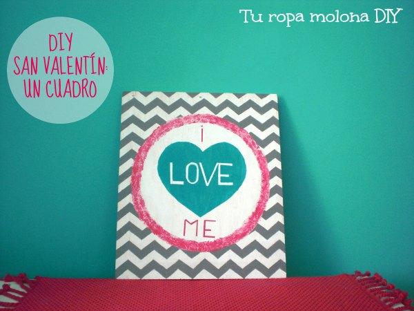 DIY San Valentín: cuadro