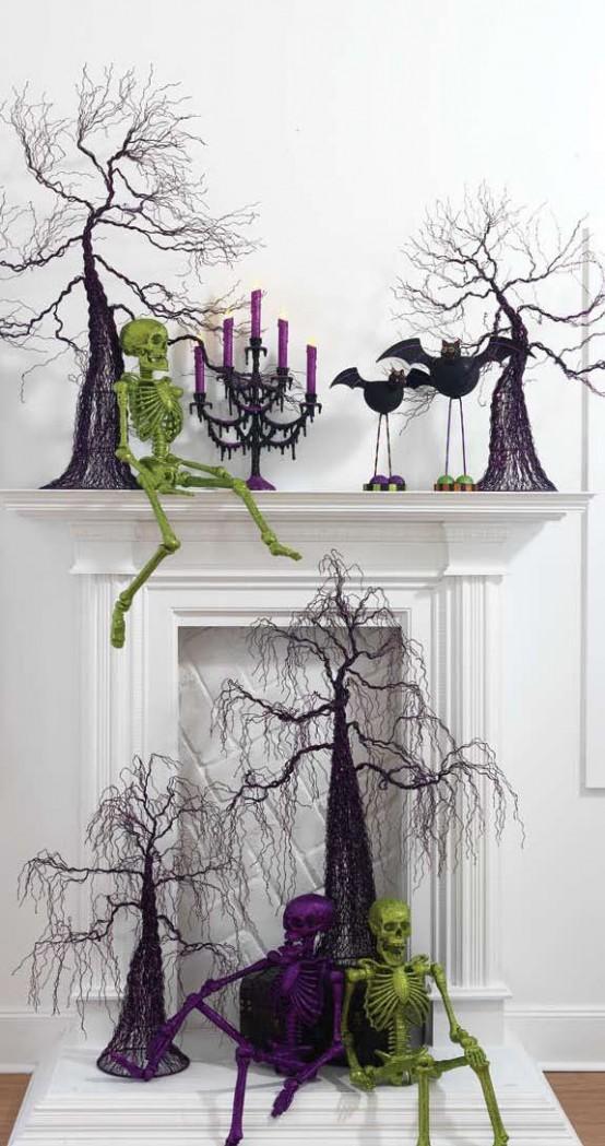 Muy buenas ideas de decoraci n de halloween decorando mejor for Buenas ideas decoracion